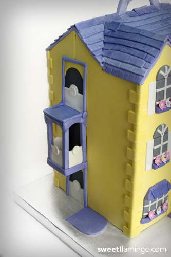 A Little Girl S Dream House Sweet Flamingo Cake Co
