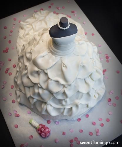 For A Classy Bride Sweet Flamingo Cake Co