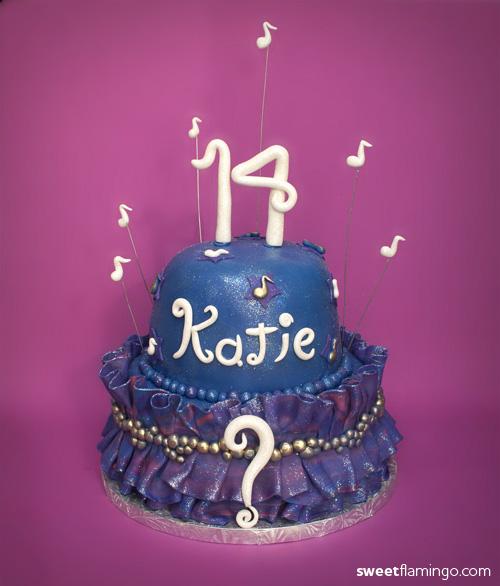 Incredible Music Sweet Flamingo Cake Co Funny Birthday Cards Online Elaedamsfinfo